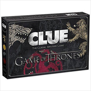 CLUE: Game of Thrones Board Game-Toy - www.Gifteee.com - Cool Gifts \ Unique Gifts - The Best Gifts for Men, Women and Kids of All Ages