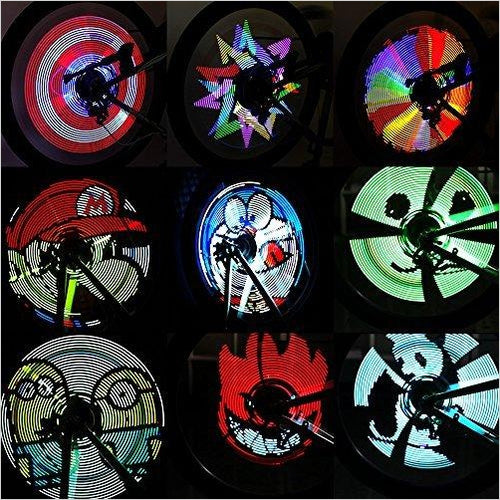 Bike Wheel Light - Gifteee. Find cool & unique gifts for men, women and kids