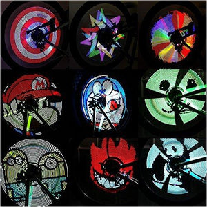 Bike Wheel Light-Sports - www.Gifteee.com - Cool Gifts \ Unique Gifts - The Best Gifts for Men, Women and Kids of All Ages