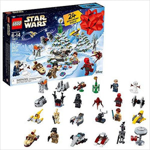 LEGO Star Wars TM Advent Calendar-Toy - www.Gifteee.com - Cool Gifts \ Unique Gifts - The Best Gifts for Men, Women and Kids of All Ages