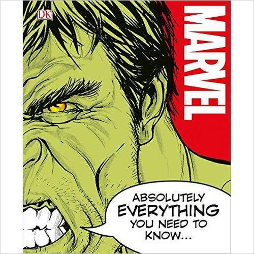 Marvel Absolutely Everything You Need to Know-Book - www.Gifteee.com - Cool Gifts \ Unique Gifts - The Best Gifts for Men, Women and Kids of All Ages