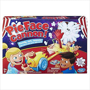 Pie Face Cannon Game-Toy - www.Gifteee.com - Cool Gifts \ Unique Gifts - The Best Gifts for Men, Women and Kids of All Ages