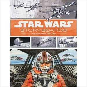 Star Wars Storyboards: The Original Trilogy - Find special books, flip books, pop up books, mysterious books, unique map books, unusual creative books at Gifteee unique books for kids and adults