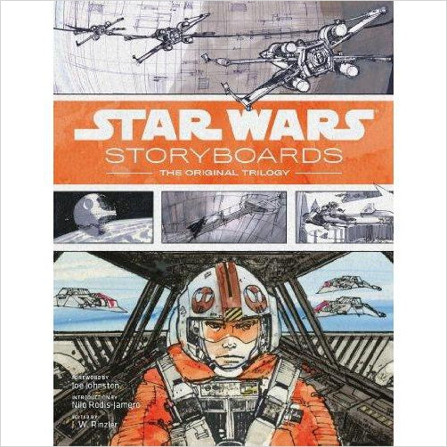 Star Wars Storyboards: The Original Trilogy-Book - www.Gifteee.com - Cool Gifts \ Unique Gifts - The Best Gifts for Men, Women and Kids of All Ages