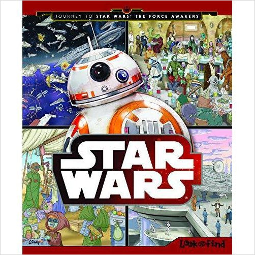 Journey to Star Wars the Force Awakens - Look and Find-Book - www.Gifteee.com - Cool Gifts \ Unique Gifts - The Best Gifts for Men, Women and Kids of All Ages