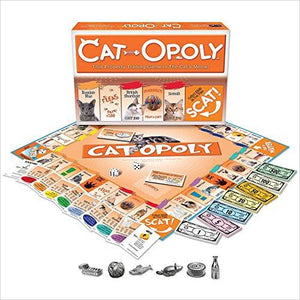 Cat-Opoly Monopoly Board Game-catopoly - www.Gifteee.com - Cool Gifts \ Unique Gifts - The Best Gifts for Men, Women and Kids of All Ages