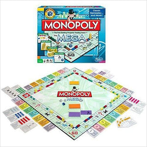 Monopoly The Mega Edition-Toy - www.Gifteee.com - Cool Gifts \ Unique Gifts - The Best Gifts for Men, Women and Kids of All Ages