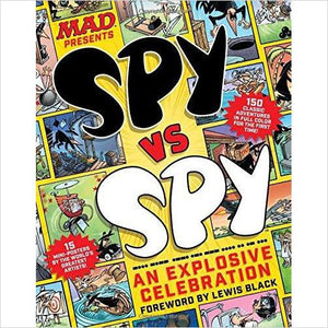 MAD Spy vs Spy: An Explosive Celebration-Book - www.Gifteee.com - Cool Gifts \ Unique Gifts - The Best Gifts for Men, Women and Kids of All Ages