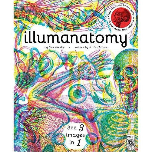 Illumanatomy: See inside the human body with your magic viewing lens-Book - www.Gifteee.com - Cool Gifts \ Unique Gifts - The Best Gifts for Men, Women and Kids of All Ages