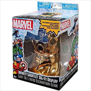Infinity Gauntlet Dig-it Display Marvel Soul Gem Thanos - Find unique gifts for superhero fans, the avengers, DC, marvel fans all super villians and super heroes gift ideas, games collectibles and gadgets at Gifteee Cool gifts, Unique Gifts for comic book fans