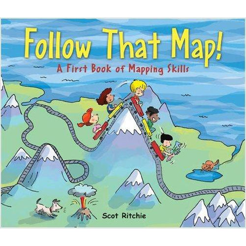 Follow That Map!: A First Book of Mapping Skills (Exploring Our Community) - Find unique STEM gifts find science kits, educational games, environmental gifts and toys for boys and girls at Gifteee Cool gifts, Unique Gifts for science lovers