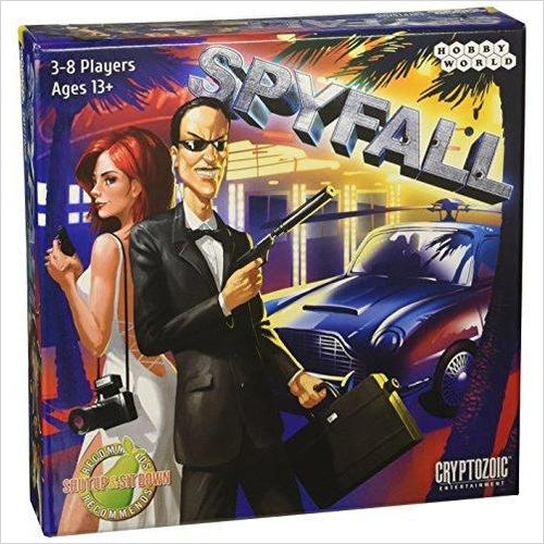 Spyfall Card Game-Toy - www.Gifteee.com - Cool Gifts \ Unique Gifts - The Best Gifts for Men, Women and Kids of All Ages