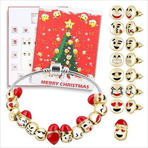 Emoji Jewelry Christmas Countdown Calendar-Furniture - www.Gifteee.com - Cool Gifts \ Unique Gifts - The Best Gifts for Men, Women and Kids of All Ages