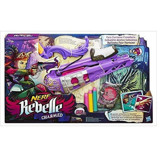 Nerf Rebelle Charmed Fair Fortune Crossbow Blaster - Gifteee. Find cool & unique gifts for men, women and kids