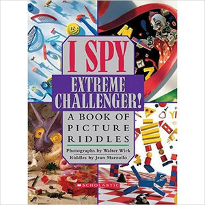 I Spy Extreme Challenger: A Book of Picture Riddles - Find special gifts for girls and tweens age 5-11 year old, gifts for your daughter, gifts for your kids birthday or Christmas, gifts for a young princess, gifts for you children classmates and friends at Gifteee Unique Gifts, Cool gifts for girls