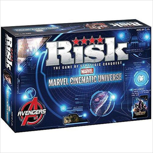 Risk: Marvel Universe Board Game-Toy - www.Gifteee.com - Cool Gifts \ Unique Gifts - The Best Gifts for Men, Women and Kids of All Ages