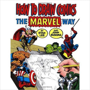 How To Draw Comics The Marvel Way-book - www.Gifteee.com - Cool Gifts \ Unique Gifts - The Best Gifts for Men, Women and Kids of All Ages