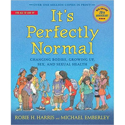 It's Perfectly Normal: Changing Bodies, Growing Up, Sex, and Sexual Health-book - www.Gifteee.com - Cool Gifts \ Unique Gifts - The Best Gifts for Men, Women and Kids of All Ages