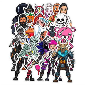 Fortnite Popular Skins Sticker Set (20 PCS)-Toy - www.Gifteee.com - Cool Gifts \ Unique Gifts - The Best Gifts for Men, Women and Kids of All Ages