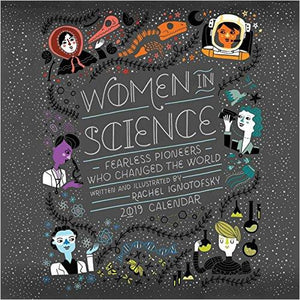 Women in Science 2019 Wall Calendar-Book - www.Gifteee.com - Cool Gifts \ Unique Gifts - The Best Gifts for Men, Women and Kids of All Ages