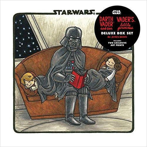 Darth Vader & Son / Vader's Little Princess Deluxe Box Set - Find funny gift ideas, the best gag gifts, gifts for pranksters that will make everybody laugh out loud at Gifteee Cool gifts, Funny gag Gifts for adults and kids
