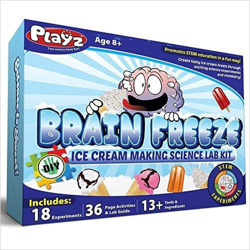 Ice Cream Making Science Kit - Find unique STEM gifts find science kits, educational games, environmental gifts and toys for boys and girls at Gifteee Cool gifts, Unique Gifts for science lovers