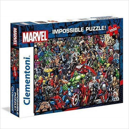 Impossible Puzzle - Marvel-1000 Pieces - Gifteee. Find cool & unique gifts for men, women and kids