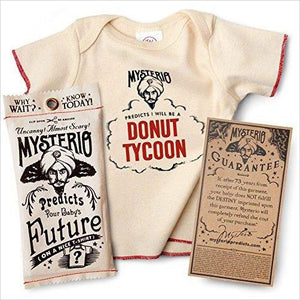 Mysterio Predicts Your Baby's Future (T-shirt) - Gifteee. Find cool & unique gifts for men, women and kids