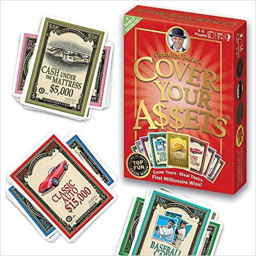 Cover Your Assets-Toy - www.Gifteee.com - Cool Gifts \ Unique Gifts - The Best Gifts for Men, Women and Kids of All Ages