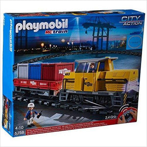 Playmobil 5258 City Action Remote Control (RC) Freight Train-Toy - www.Gifteee.com - Cool Gifts \ Unique Gifts - The Best Gifts for Men, Women and Kids of All Ages