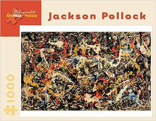 Jaskon Pollock - Convergence: 1,000 Piece Puzzle - Gifteee. Find cool & unique gifts for men, women and kids