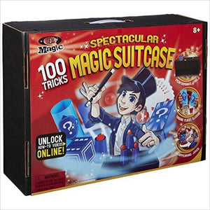 Spectacular Magic Show Suitcase-Toy - www.Gifteee.com - Cool Gifts \ Unique Gifts - The Best Gifts for Men, Women and Kids of All Ages