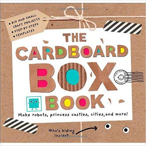 The Cardboard Box Book: Make Robots, Princess Castles, Cities, and More!-book - www.Gifteee.com - Cool Gifts \ Unique Gifts - The Best Gifts for Men, Women and Kids of All Ages