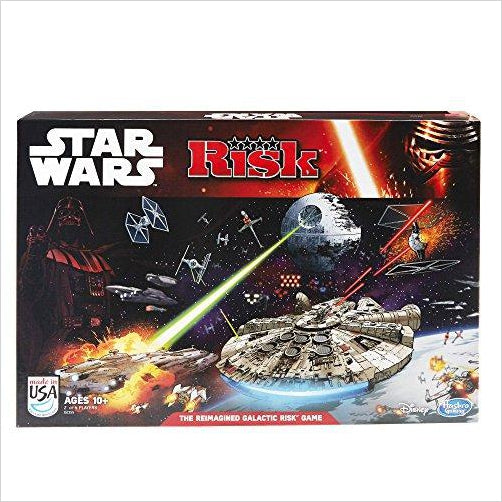 Risk: Star Wars Edition Game - Find unique gifts for Star Wars fans, new star wars games and Star wars LEGO sets, star wars collectibles, star wars gadgets and kitchen accessories at Gifteee Cool gifts, Unique Gifts for Star Wars fans