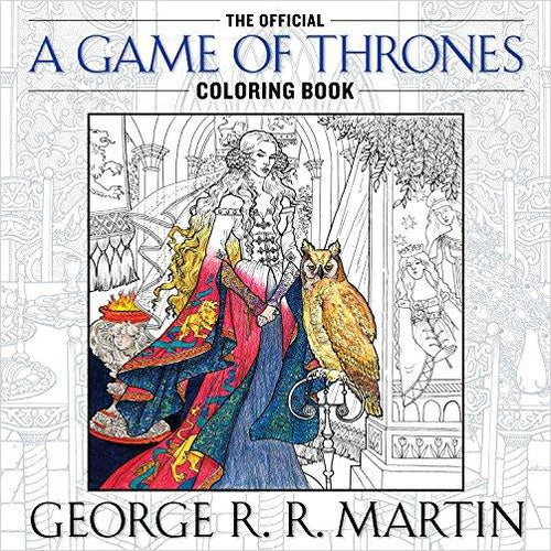 The Official A Game of Thrones Coloring Book-coloring book - www.Gifteee.com - Cool Gifts \ Unique Gifts - The Best Gifts for Men, Women and Kids of All Ages