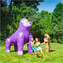 Inflatable Purple Ape Yard Summer Sprinkler - 6ft-Toy - www.Gifteee.com - Cool Gifts \ Unique Gifts - The Best Gifts for Men, Women and Kids of All Ages
