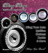 Load image into Gallery viewer, Car Bling Ring Emblem Sticker - Find unique gifts for a car lover, cool decor for you car, car gadgets and car bling accessories at Gifteee Cool gifts, Unique Gifts for car lovers