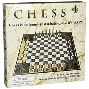 4 Player Chess-chess - www.Gifteee.com - Cool Gifts \ Unique Gifts - The Best Gifts for Men, Women and Kids of All Ages
