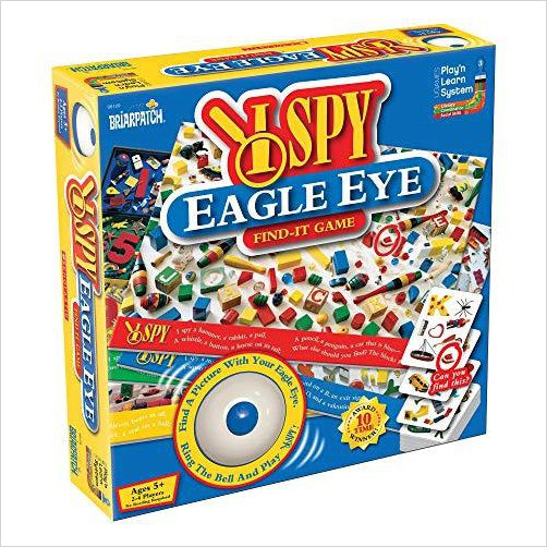 I SPY Eagle Eye Game - Find special gifts for girls and tweens age 5-11 year old, gifts for your daughter, gifts for your kids birthday or Christmas, gifts for a young princess, gifts for you children classmates and friends at Gifteee Unique Gifts, Cool gifts for girls