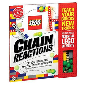Klutz LEGO Chain Reactions Craft Kit - Gifteee. Find cool & unique gifts for men, women and kids