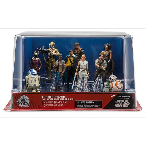 Disney Star Wars Exclusive Rise of Skywalker The Resistance PVC Figure Playset - Find unique gifts for Star Wars fans, new star wars games and Star wars LEGO sets, star wars collectibles, star wars gadgets and kitchen accessories at Gifteee Cool gifts, Unique Gifts for Star Wars fans