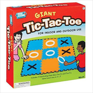 Giant Tic-Tac-Toe Game-Toy - www.Gifteee.com - Cool Gifts \ Unique Gifts - The Best Gifts for Men, Women and Kids of All Ages