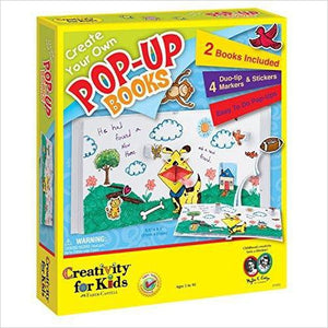 Create Your Own Pop Up Books-Toy - www.Gifteee.com - Cool Gifts \ Unique Gifts - The Best Gifts for Men, Women and Kids of All Ages