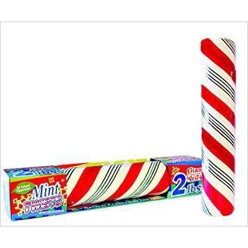 Giant Candy Cane Peppermint Mint Twist Stick 2 Pounds - Find unique gifts that will get you kids eating well and eating healthy with unique foodie gifts for kids dinner and the kitchen at Gifteee Cool gifts, Unique Gifts that will make kids enjoy eating