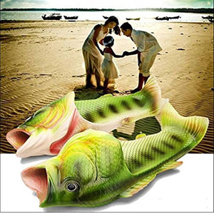 Fish Slippers - Find funny gift ideas, the best gag gifts, gifts for pranksters that will make everybody laugh out loud at Gifteee Cool gifts, Funny gag Gifts for adults and kids