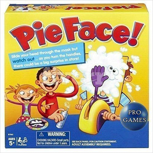 Pie Face Game-Toy - www.Gifteee.com - Cool Gifts \ Unique Gifts - The Best Gifts for Men, Women and Kids of All Ages