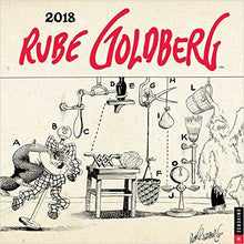 Rube Goldberg 2018 Wall Calendar-calendar - www.Gifteee.com - Cool Gifts \ Unique Gifts - The Best Gifts for Men, Women and Kids of All Ages