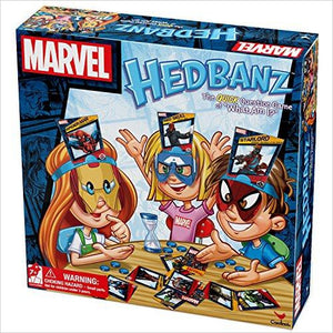 Marvel Hedbanz Board Game-hedbanz game - www.Gifteee.com - Cool Gifts \ Unique Gifts - The Best Gifts for Men, Women and Kids of All Ages