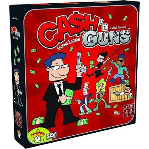 Cash 'N Guns-Toy - www.Gifteee.com - Cool Gifts \ Unique Gifts - The Best Gifts for Men, Women and Kids of All Ages
