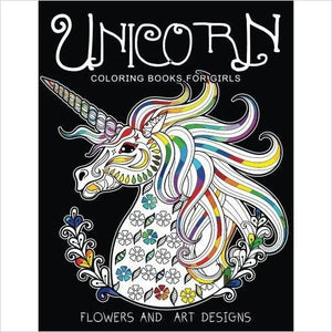 Unicorn Coloring Book-Book - www.Gifteee.com - Cool Gifts \ Unique Gifts - The Best Gifts for Men, Women and Kids of All Ages